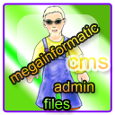 megainformatic cms admin files