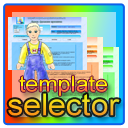 template selector